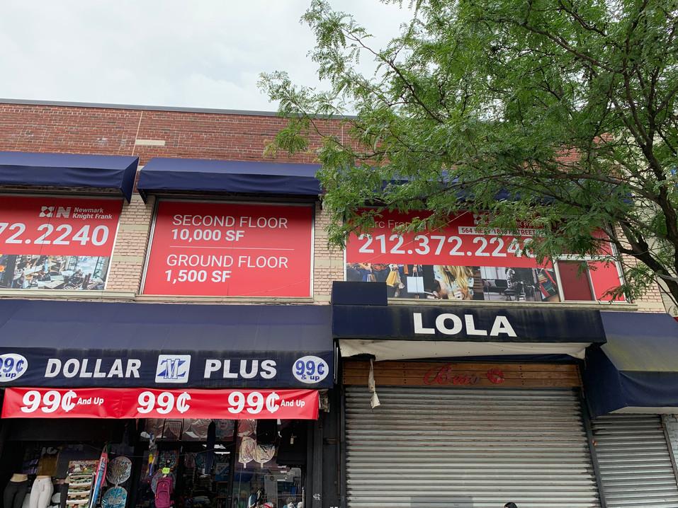 564 West 181 Street New York, NY 10033 (