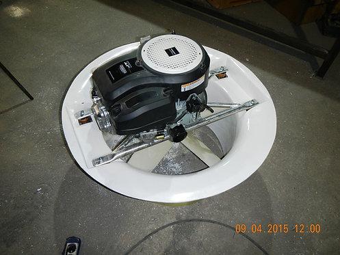 Нагнетательная установка с мотором 20 л.с.