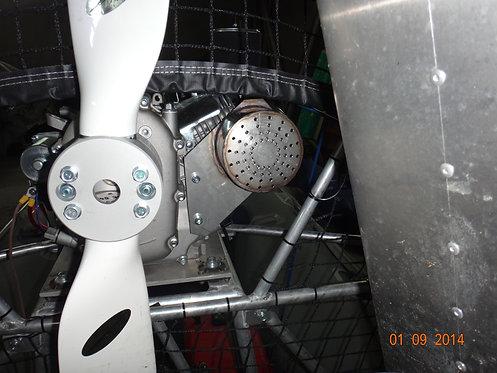 глушитель нержавеющий для  GF190 FE-R