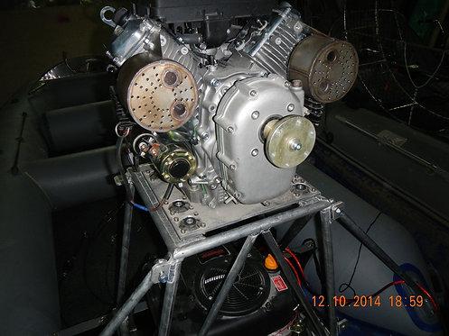 Силовая установка ходовая 27 л.с. полный комплект