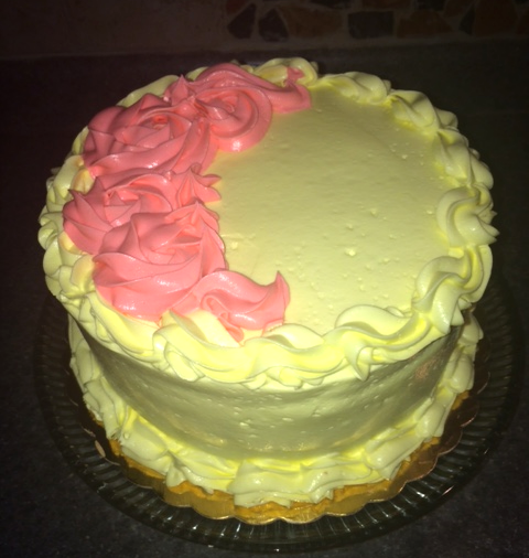 Lemoon Sponge Cake