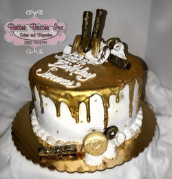 Drip cakes available