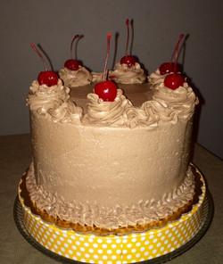 Dark Chocolate 4 Layer cake