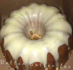 Buttery Iced Butter Pound