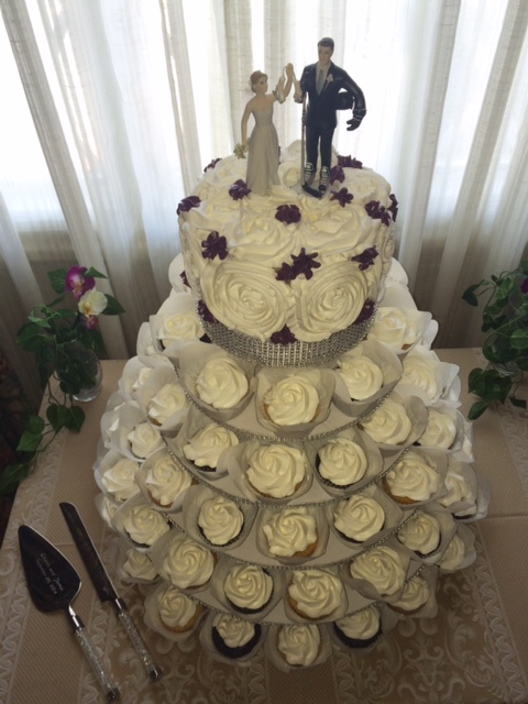 Wedding Kupcake Towers