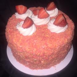 Strawberry Shortcake Crunch