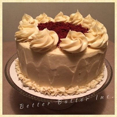 4 Layer Red Velvet Cake