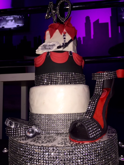 Blinged Out Custom Cake