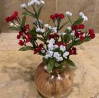Figured Maple Hollow Form Vase