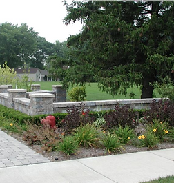 Raised Garden Walls, Seat Walls And Landcape Block Pillars Can Add Charm To Your Landscape