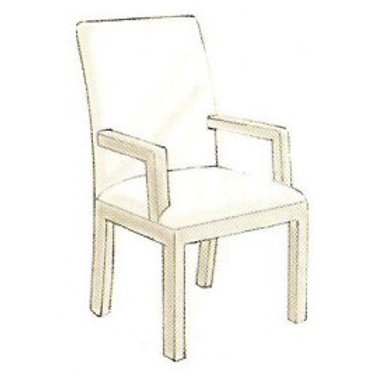 2116 Arm Dining Chair Frame
