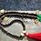 Thumbnail: DAKOTA long, beaded statement necklace