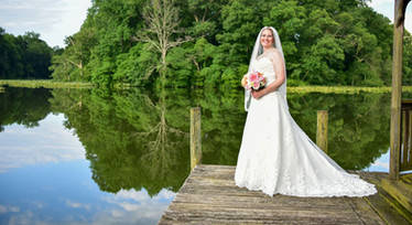 Hollyfield Manor Bridal Portrait Photographer