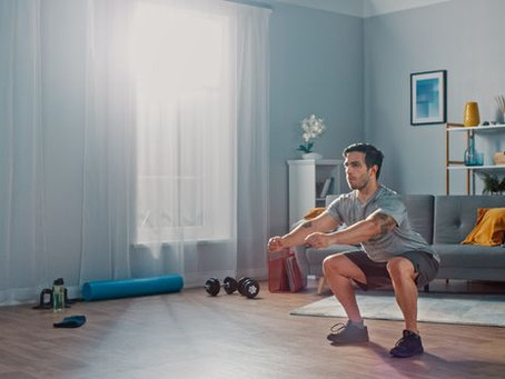 As coronavirus shutters gyms, it's important to develop an at-home workout routine