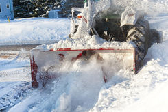 Commercial Snow Removal, Snow Plowing and Salting Services