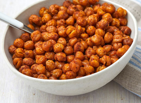 Roasted Chickpeas - A Quick & Healthy Snack