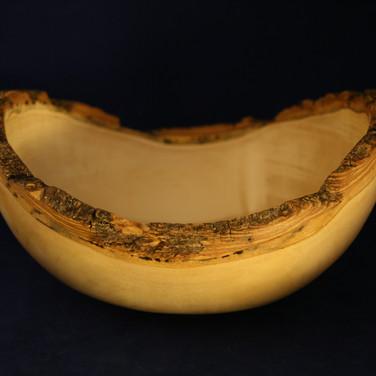 Box Elder Bowl with Natural Edge