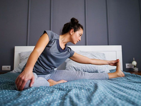 4 Stretches for Your Best Night's Sleep