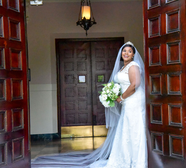 St. Josephs Villa Bridal Portrait