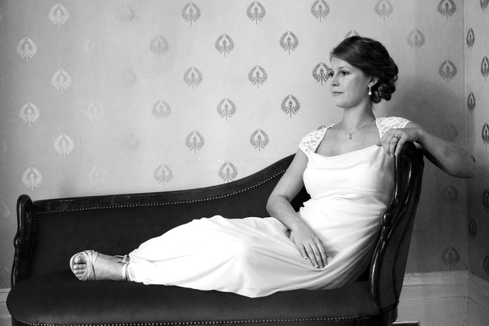 Linden Row Inn Bridal Portraits