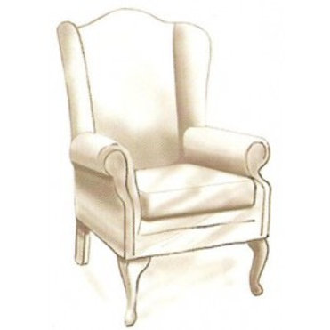 1100 Wing Chair Frame