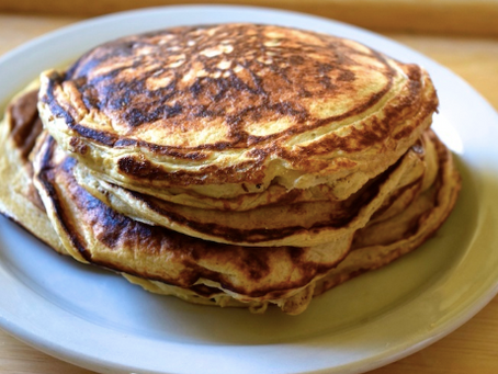 Protein Pancakes - A Healthy Breakfast to Make If You're Going to the Gym in the AM