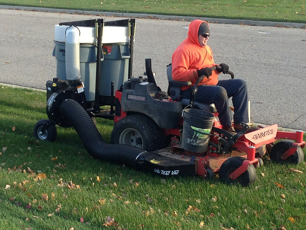 All Terra Landscape provides professional leaf removal and fall clean up services for residential and commercial clients in Lansing, Okemos, Dewitt, Holt, East Lansing and the rest of the Mid Michigan Area