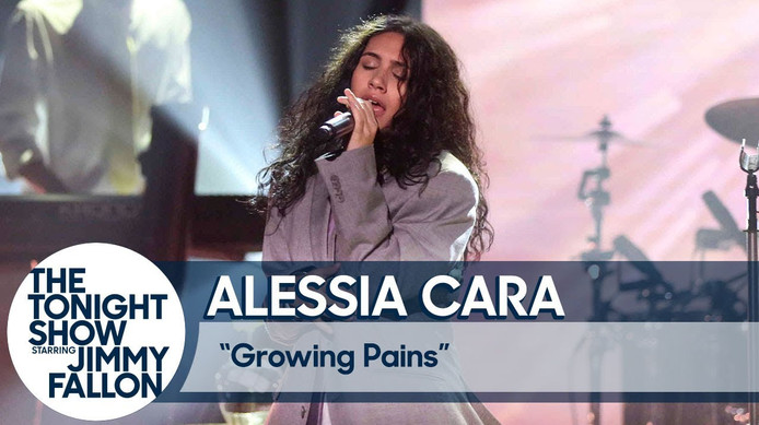 The Tonight Show - Alessia Cara Live
