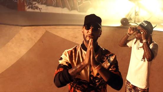 Swizz Beatz ft. Lil Wayne - Pistol On My Side