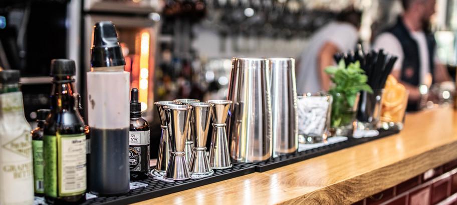 Cocktail Corner in der Fleischerei