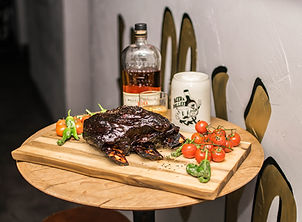 Jack´s Creek Beef Ribs Bulleit Whisky