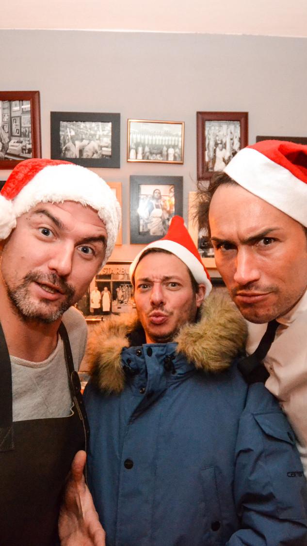 Weihnachten in der Fleischerei