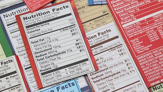 Nutrition Facts 101