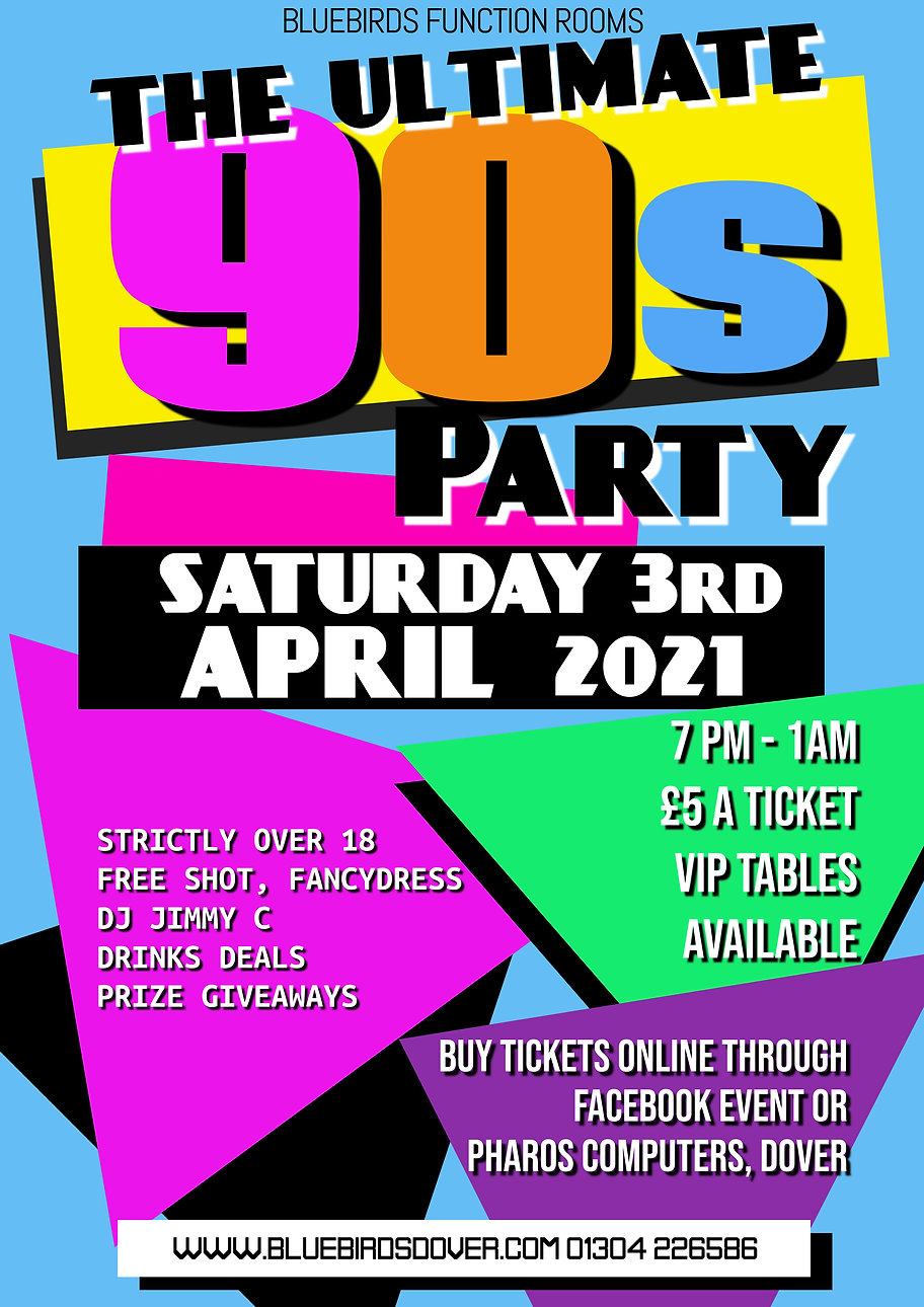 Copy of 90s Party Oldschool Retro Event