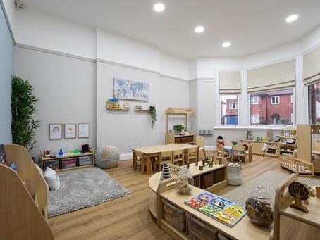 Beautiful nursery project in Derby