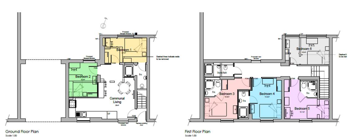 Monson Street Plans