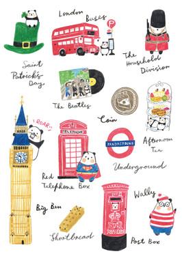 Around the World with Panda - UK