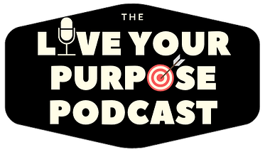 live your pupose podcast logo transparen