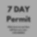 7 Day Permit informaton