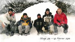 stage de survie grand froid