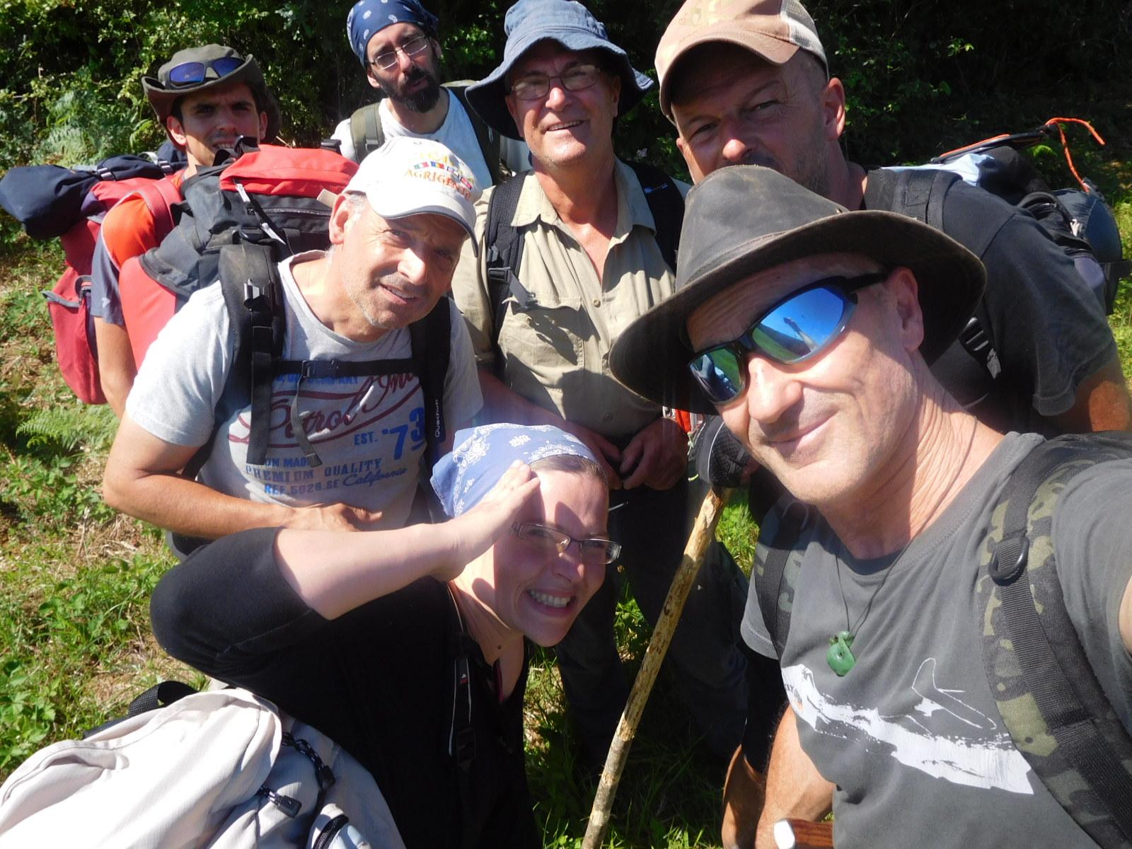 selfi du groupe