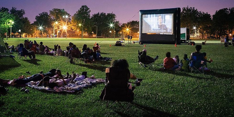Movie Night on the Ball Field