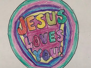 Coloring page from SUMC youth