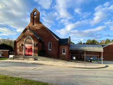 Facade of Salem United Methodist Church