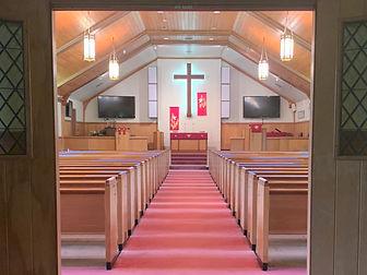 Sanctuary of Salem United Methodist Church Upper Falls, Maryland August 2020