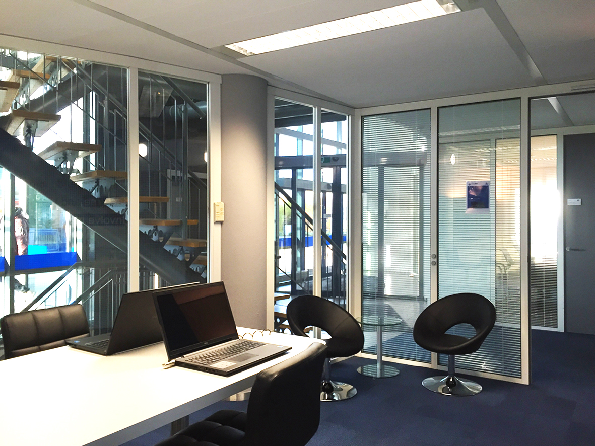Ewals Cargo Care kantoor interieur
