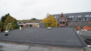 renovatie garagedak plat dak