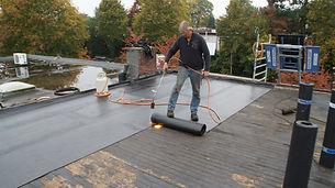 Dakbedekking verwijderen garage dakdekker bert faessen