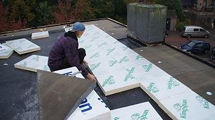 Plat dak isoleren Bert faessen dakwerken