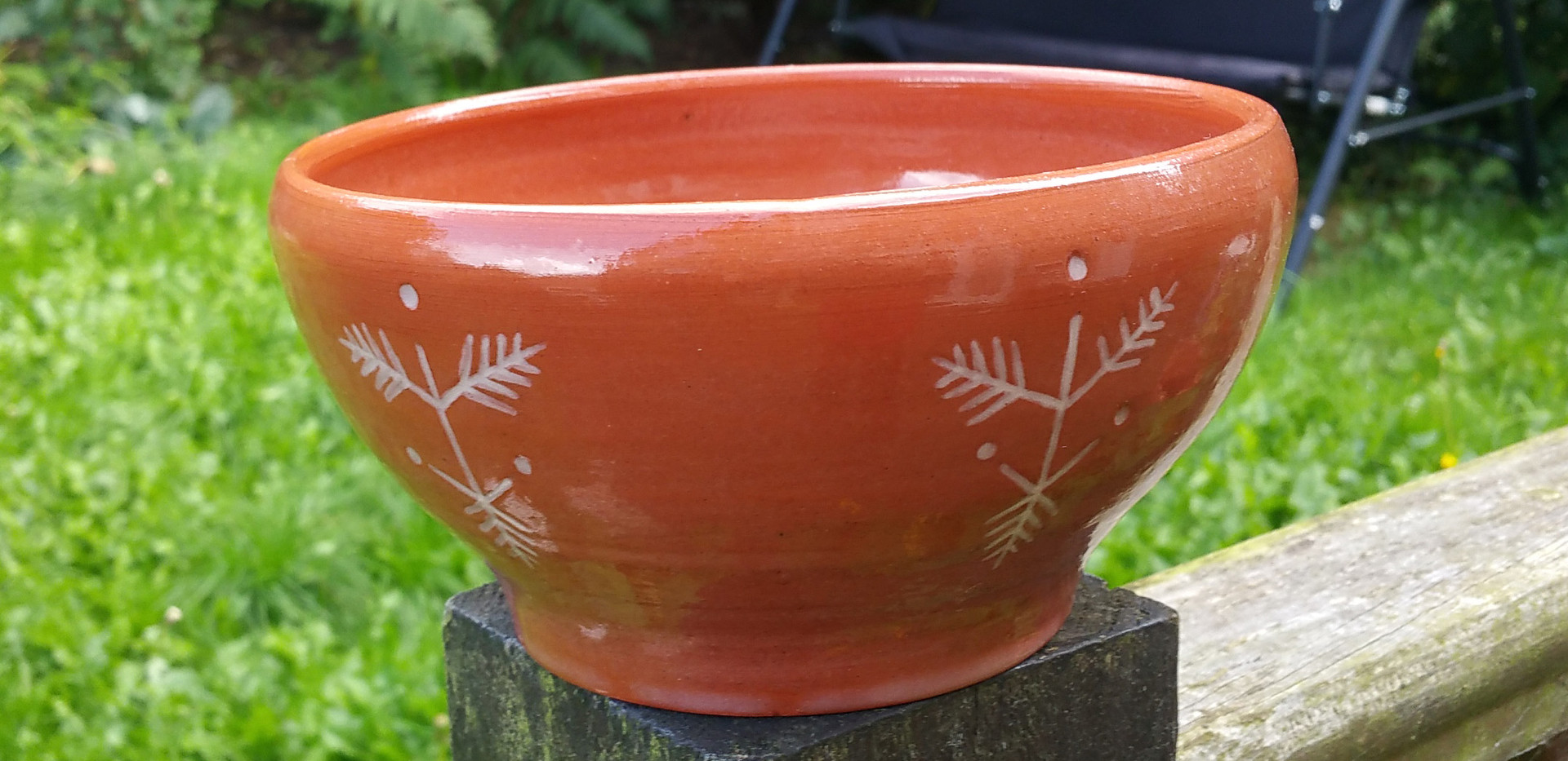 bowl with slavic pattern